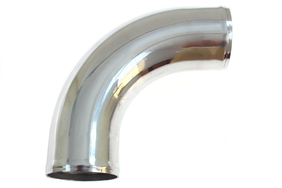 Rura aluminiowa 90st 76mm 30cm - GRUBYGARAGE - Sklep Tuningowy